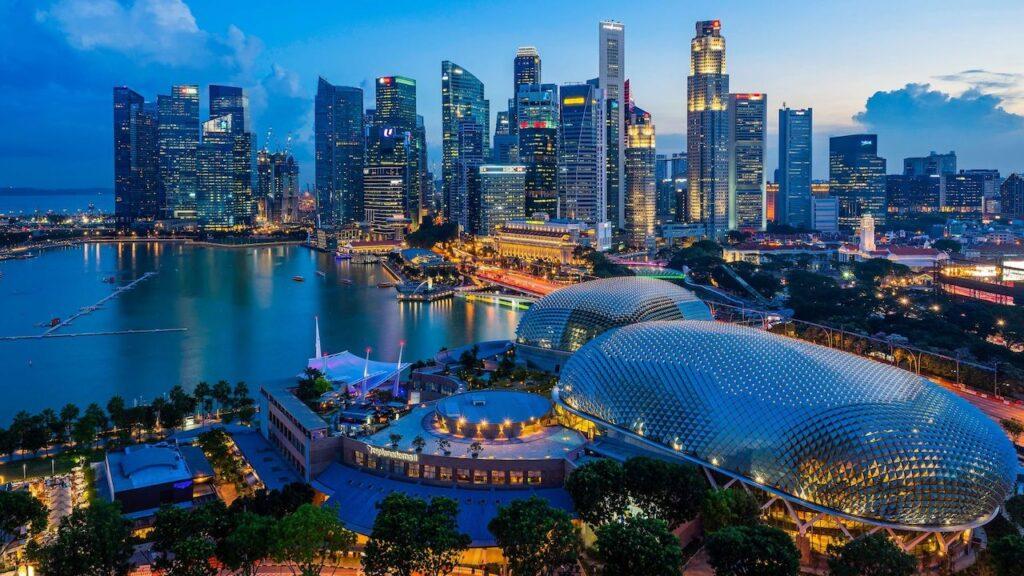 dünyanın en teknolojik şehirlerinden Singapur