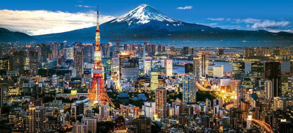 dünyanın en teknolojik şehirlerinden Tokyo
