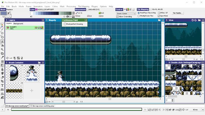 Pixel çizim programaları: Cosmigo Pro Motion
