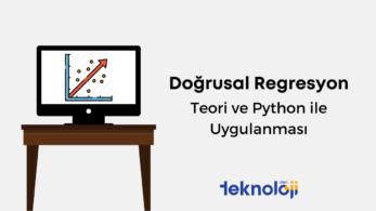 Doğrusal Regresyon: Teori ve Python ile Uygulanması