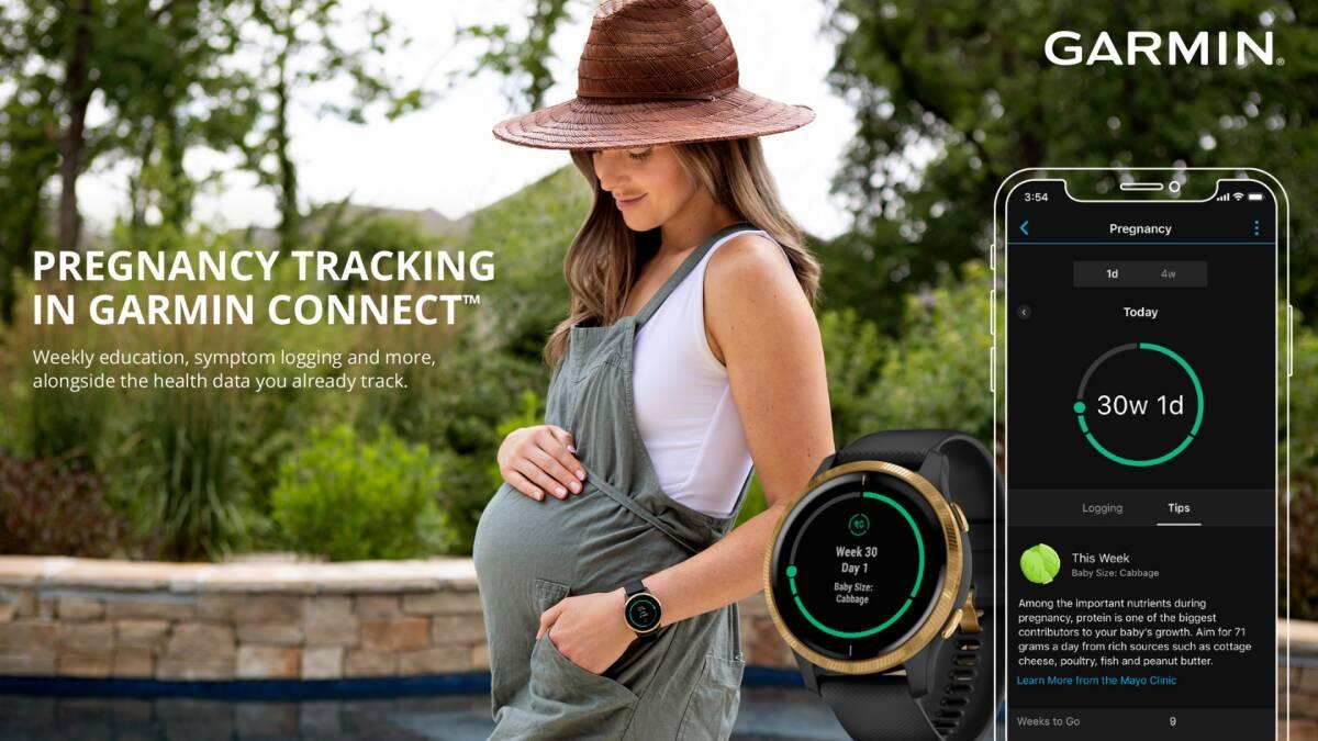 Garmin hamilelik özelliği