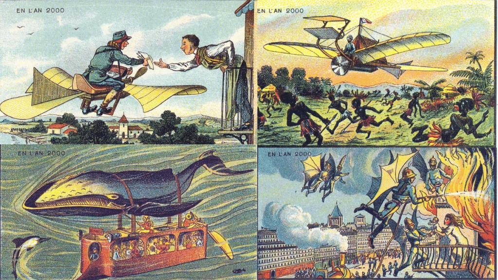 Sanat ile Teknoloji Hakkında Yapılmış Tahminler: Isaac Asimov Fransız Dünya Sergisi Future Days