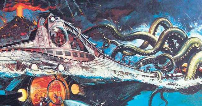 Sanat ile Teknoloji Hakkında Yapılmış Tahminler: Jules Verne