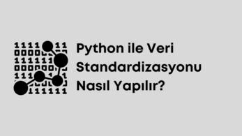 Python ile Veri Standardizasyonu Nasıl Yapılır?