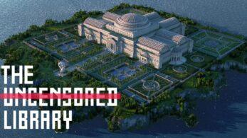 Sansürsüz Kütüphane Minecraft'dan Oyunculara Ulaşıyor