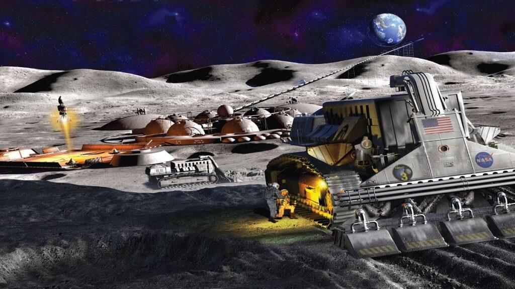 Ay'da Madencilik