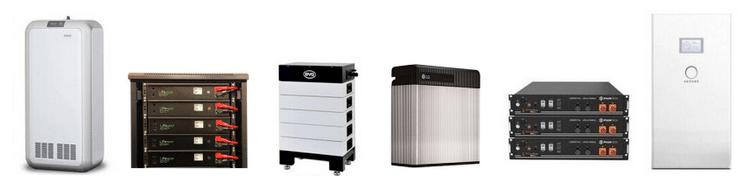 Güneş enerjisi depolanmasında kullanılan batarya grupları