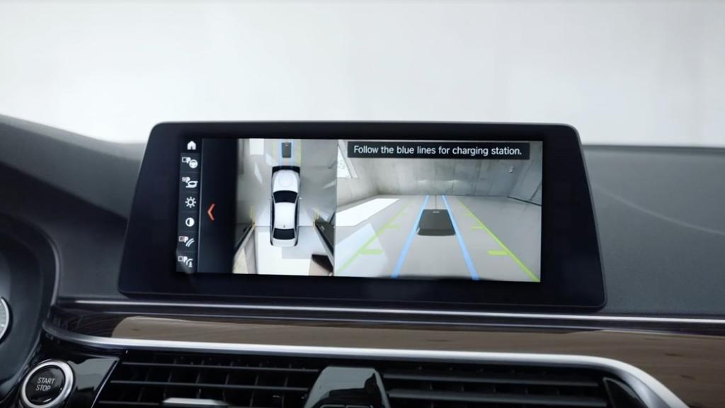 BMW kablosuz şarj sistemi hizalama uygulaması