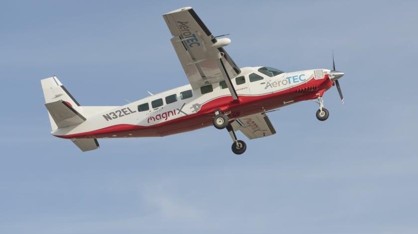Elektrikli Uçak eCaravan