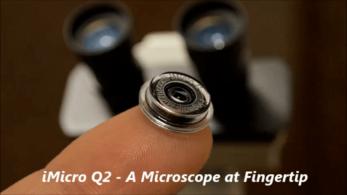 iMicro Q2: Parmak Ucunuzdaki Mikroskop