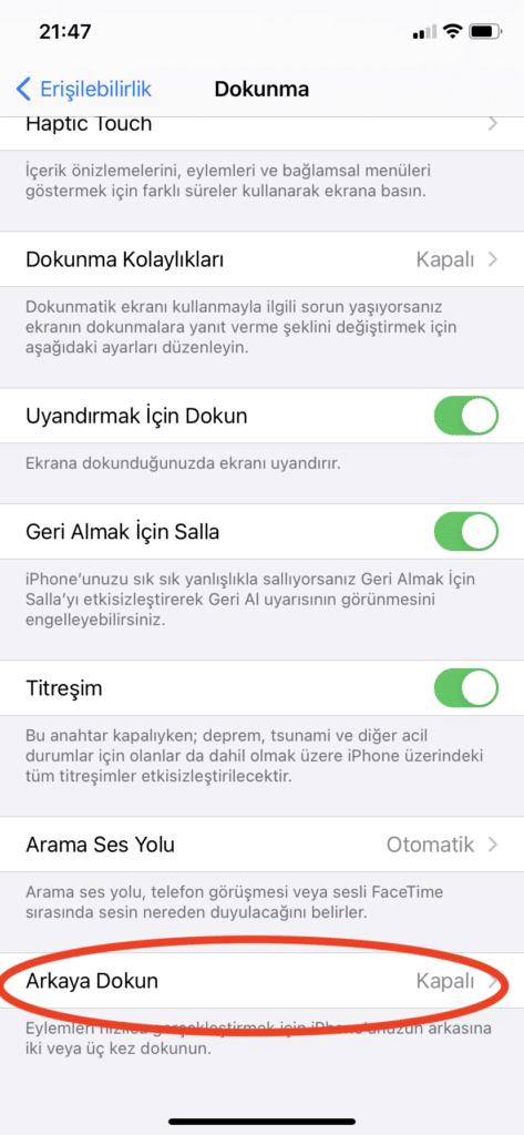 iPhone-erişilebilirlik-dokunma