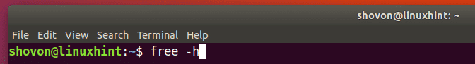 linux-RAM-yönet