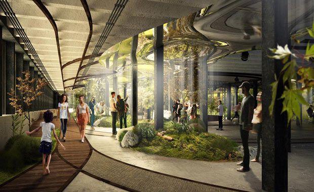 Lowline Yeraltı Parkı Projesi