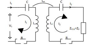 Manyetik rezonanslı kuplaj eşdeğer devresi