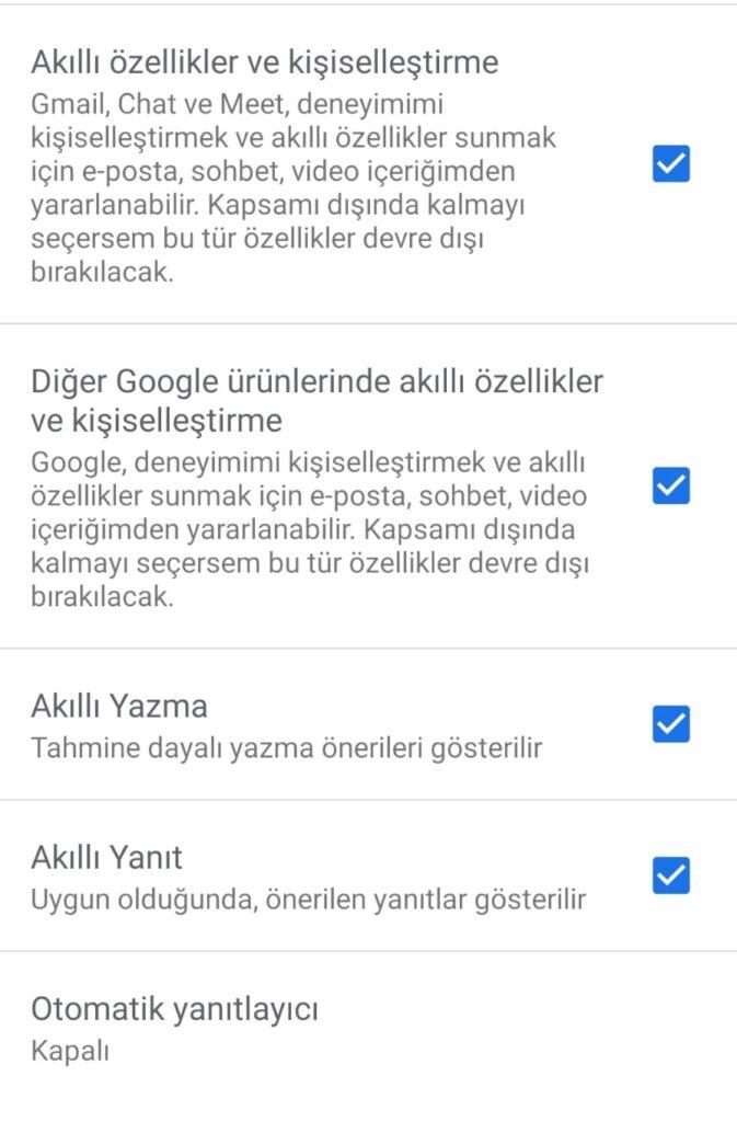Google Uygulamaları için Gizlilik İpuçları: Gmail Ayarları