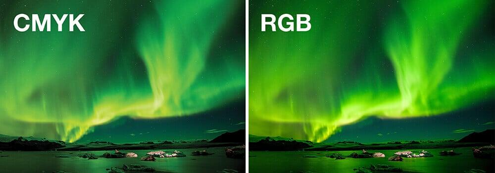 RGB ve CMYK arasındaki fark