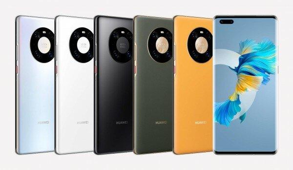 Huawei Mate 40 Pro - akıllı telefon önerileri