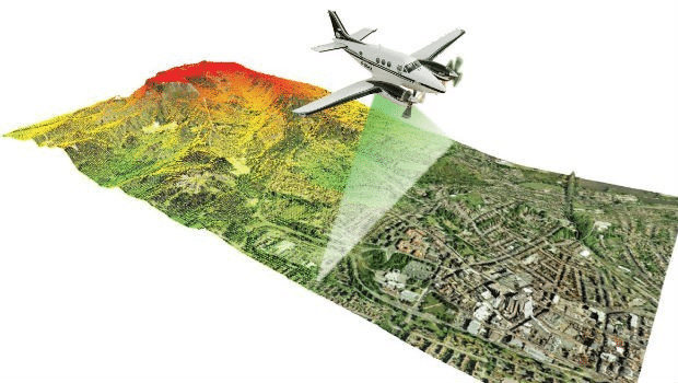 Hava Lidar Sistemleri ile Haritalandırma