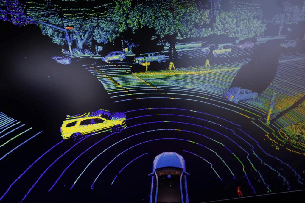 Otonom araçlarda LiDAR sistemleri