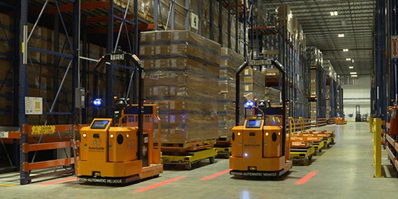 Forklift tipi otonom mobil robot