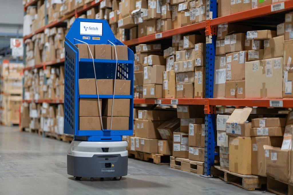Bir otonom mobil robot örneği