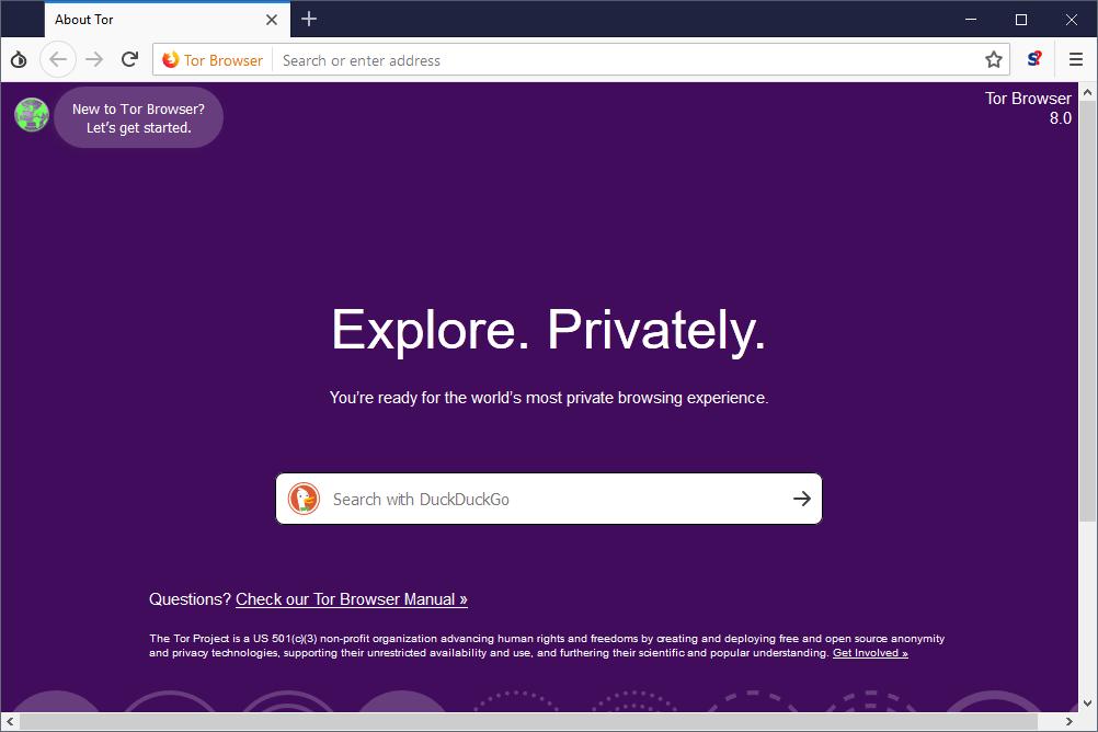 Tor web tarayıcı
