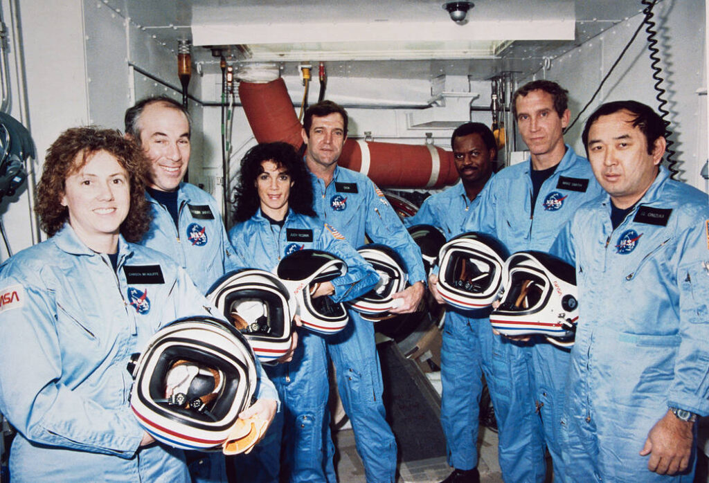 Challenger Uzay Mekiği Mürettebatı