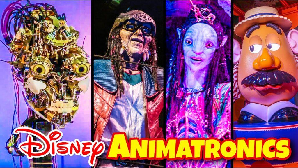 Disney'in Tasarladığı Animatronikler