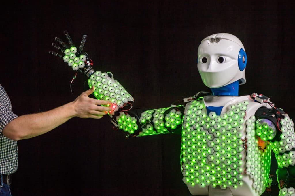 Robotlar için Elektronik Cilt