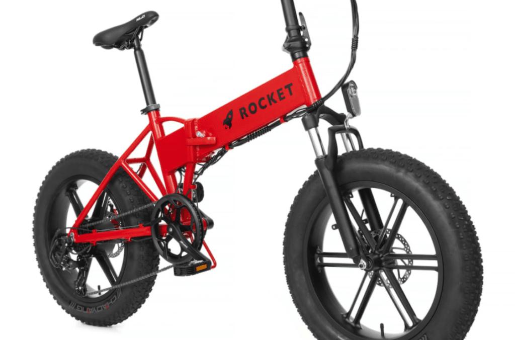 Rocket eBike'ın Kırmızı Modeli