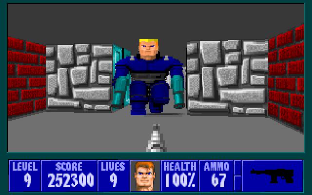 Wolfenstein 3D Oyunu