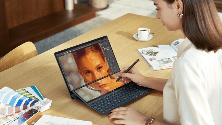 çift ekranlı yeni asus zenbook