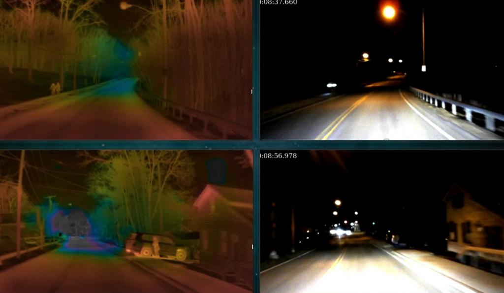 Owl Termal görüntüleme sistemi gece performansı
