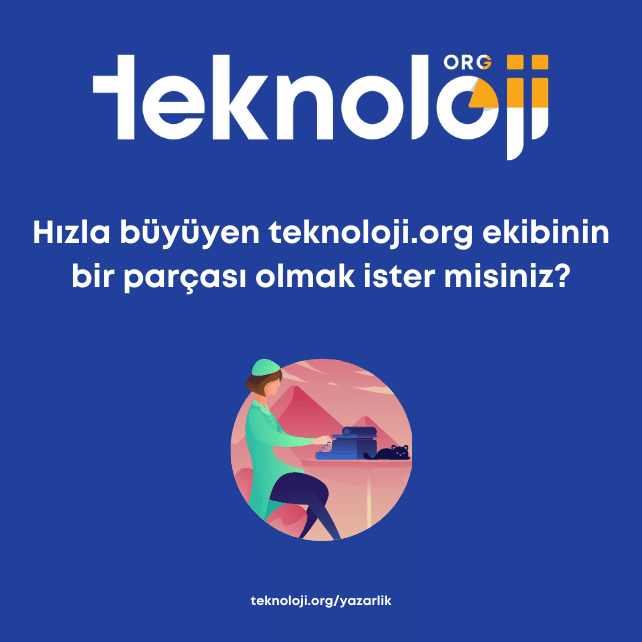 Teknoloji.org Yazarlık Başvurusu