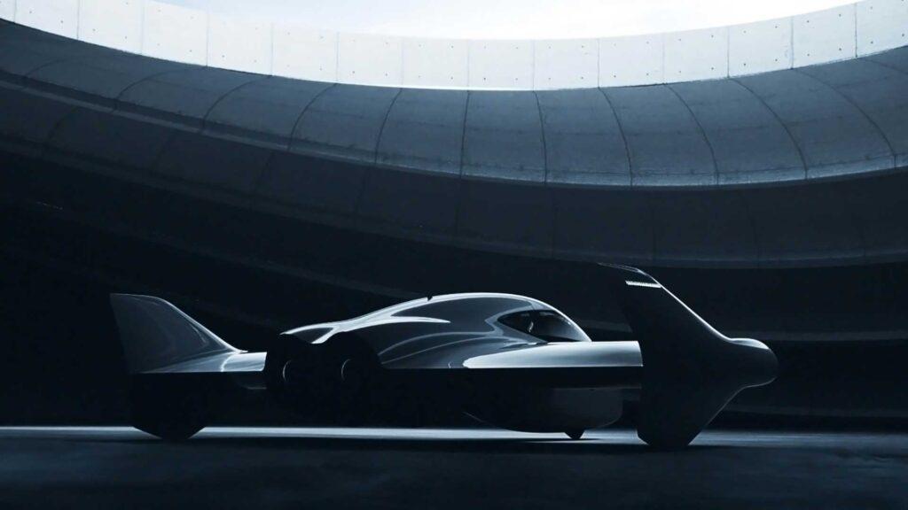 Porsche Uçan Araba Temsili