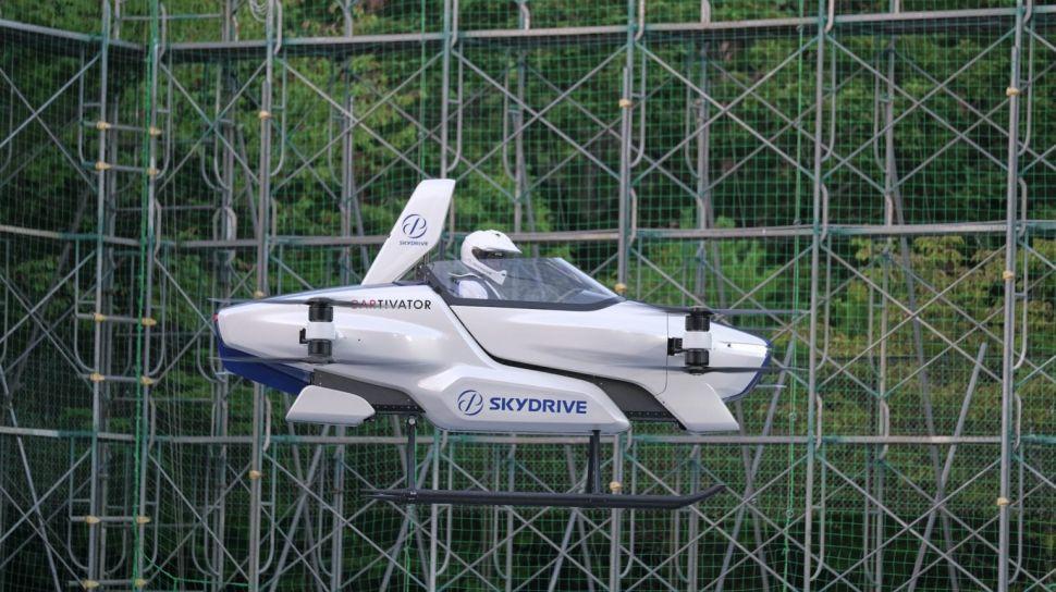 SkyDrive Uçan Araba