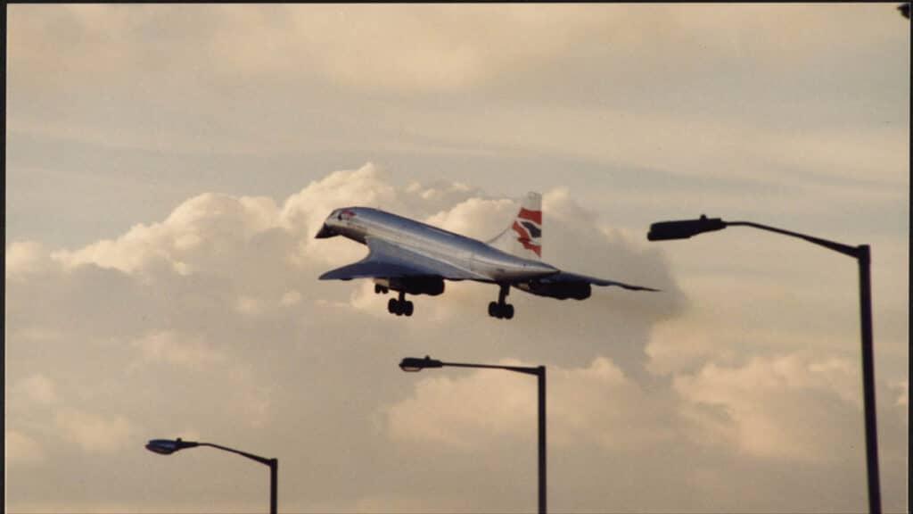 Son Concorde Yolcu Uçağı