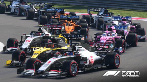 F1 2020 En iyi simülasyon oyunları
