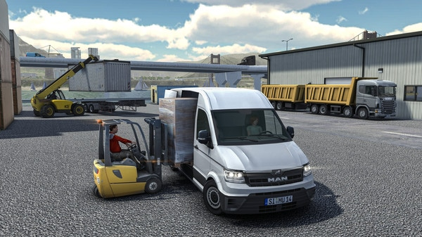 Truck and Logistics Simulator En iyi simülasyon oyunları