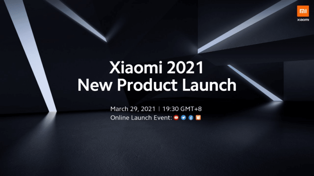 Xiaomi mega launch