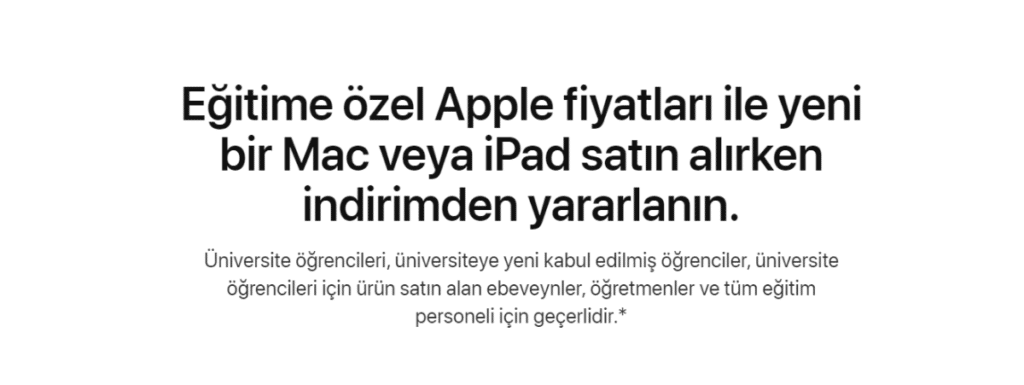 apple-ogrenci-indirimi