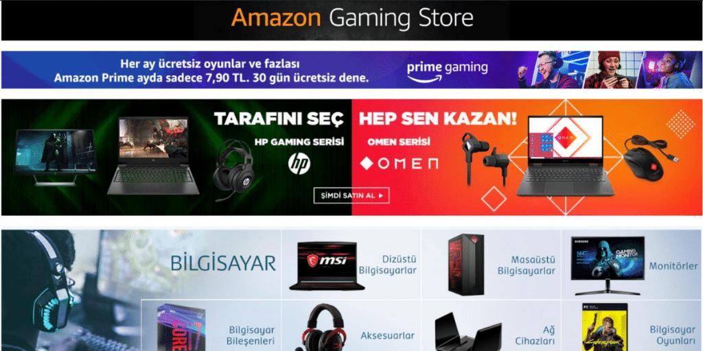 Amazon-Gaming-Store-Turkiye