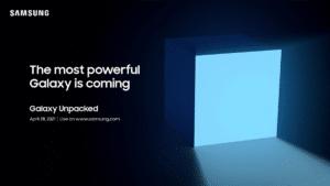 Galaxy Unpacked 28 Nisan Tarihinde Gerçekleşecek