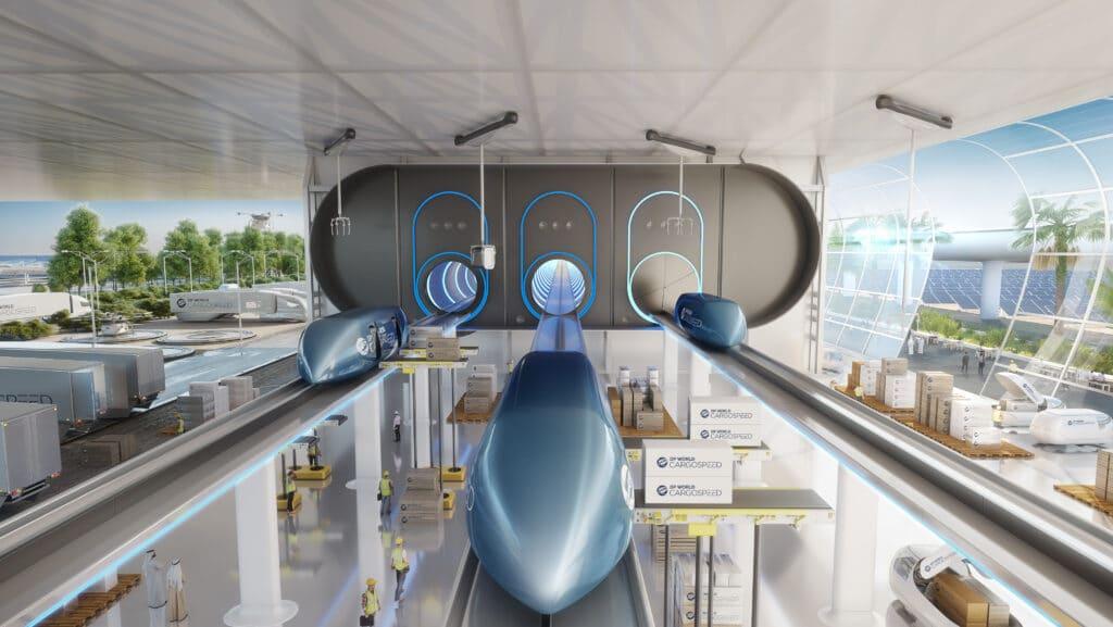 Ultra Hızlı Hyperloop