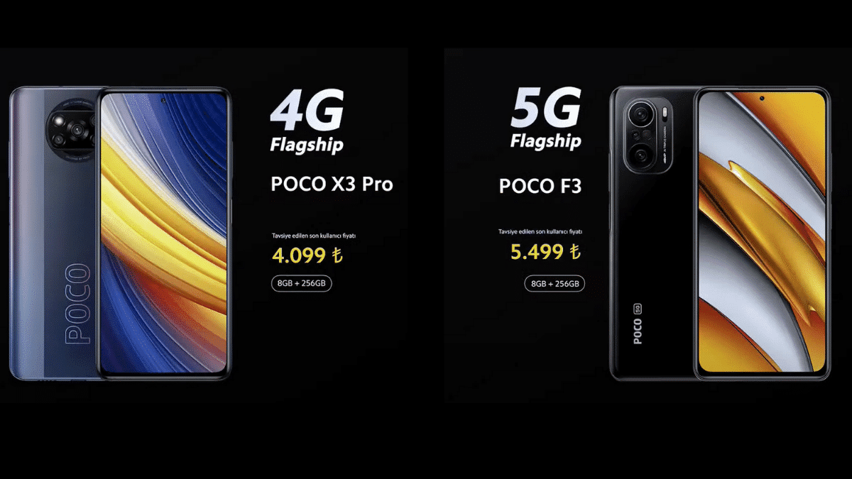 POCO Türkiye Lansmanı X3 Pro ve F3 Fiyatı Açıklandı