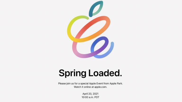 Siri 20 Nisan'da Apple Etkinliği Gerçekleşeceğini Açıkladı Spring Loaded