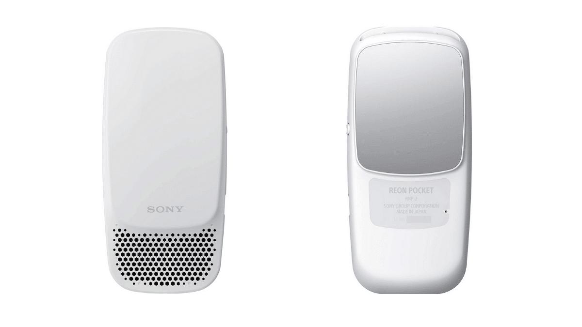 Sony Reon Pocket 2 Giyilebilir Klima Duyuruldu