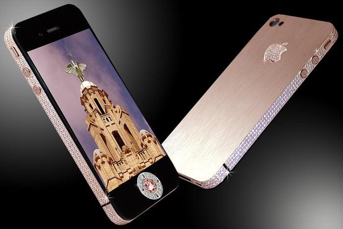iphone 4 Diamond Rose dünyanın en pahalı telefonu