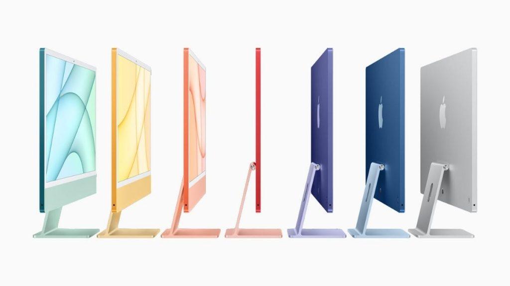Yeni iMac'ler rengarenk