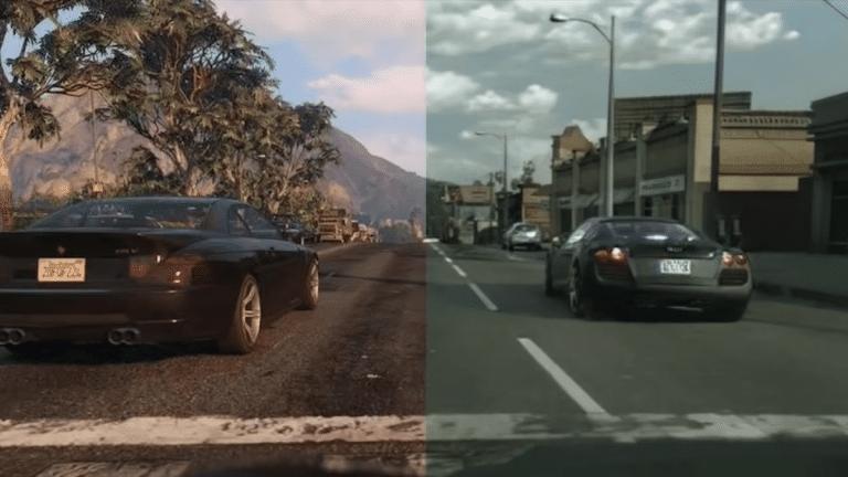 GTA V Grafikleri Yapay Zeka ile Daha da Gerçekçi Oldu